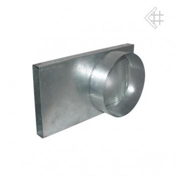 Přechod  na kruhové potrubí pr. 100 mm