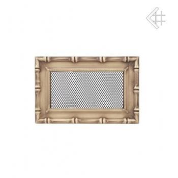 Krbová mřížka DIANA ZLATÁ 11x17 cm